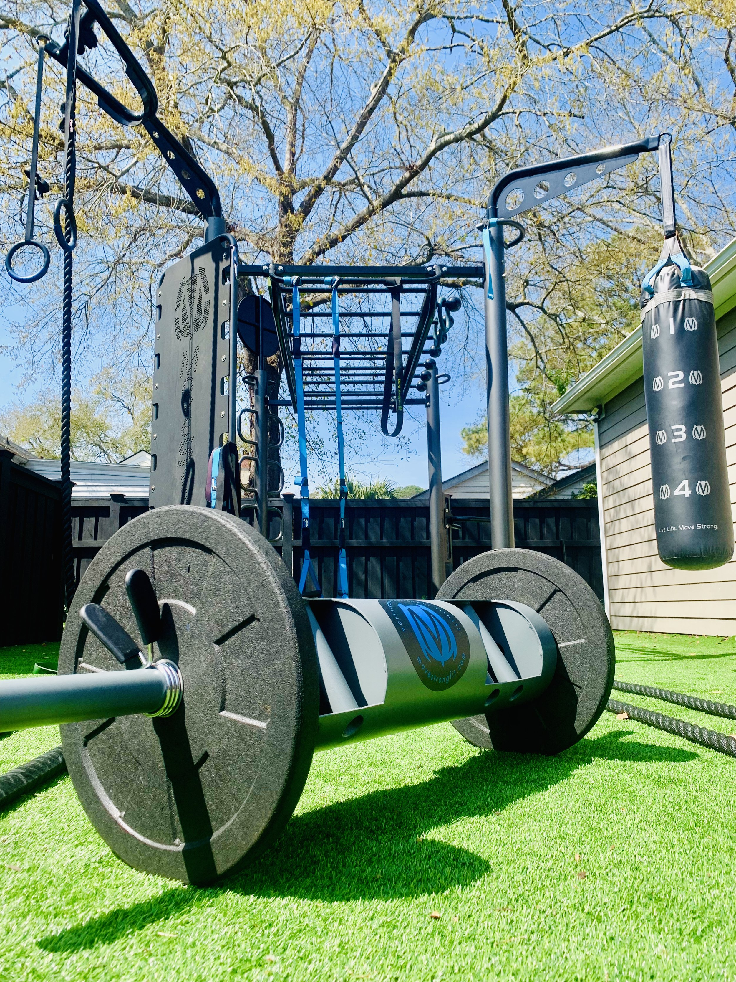 Functional Fitness Training outdoor gym