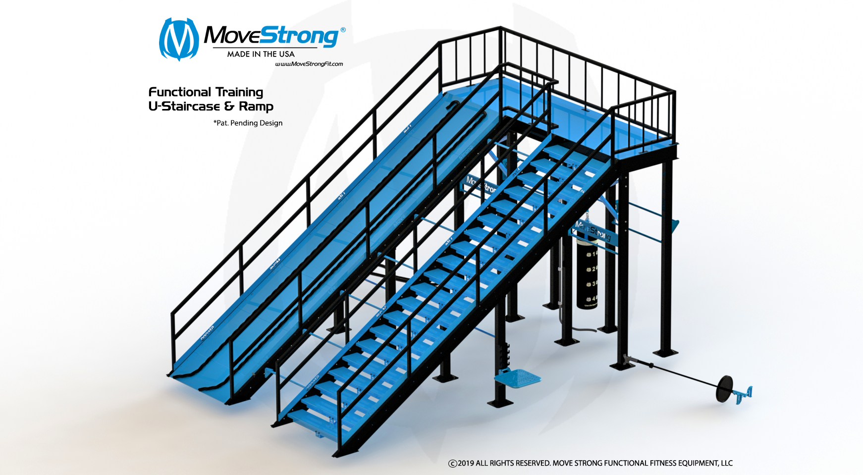 Functional Training U-Staircase and Ramp