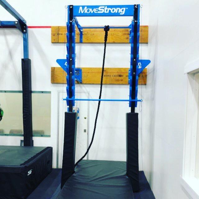 YMCA Salmon Ladder For Ninja Warrior