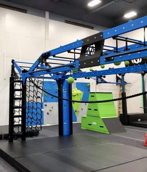YMCA Ninja Warrior Training Room