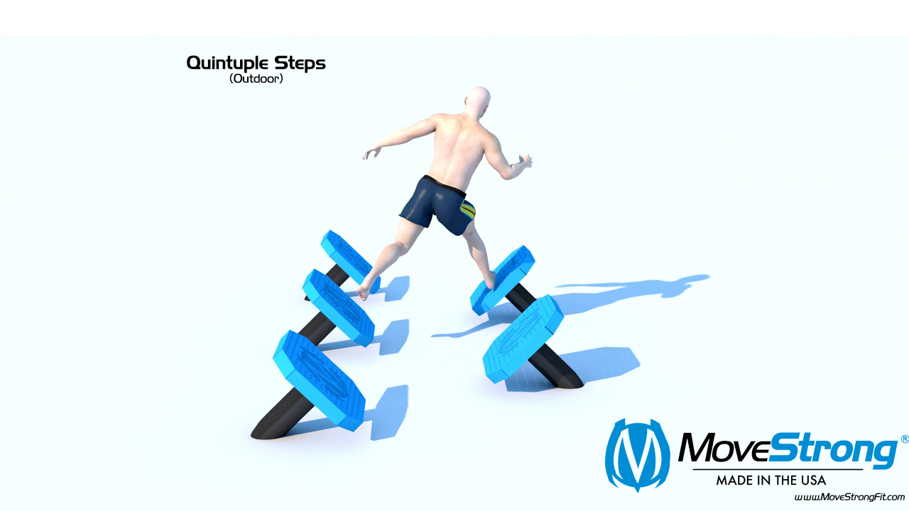 Outdoor Quintuple Steps