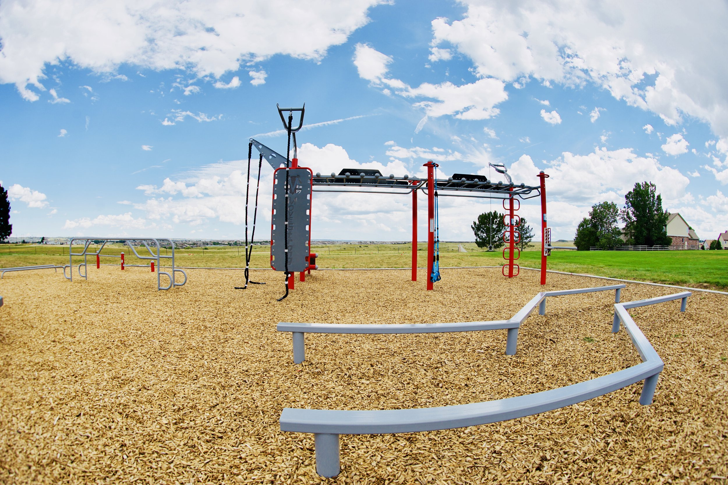 Fitness Park Design and Layout