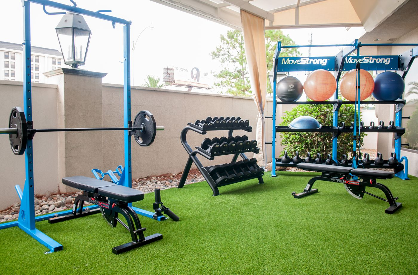 MoveStrong Outdoor Gym With Freights