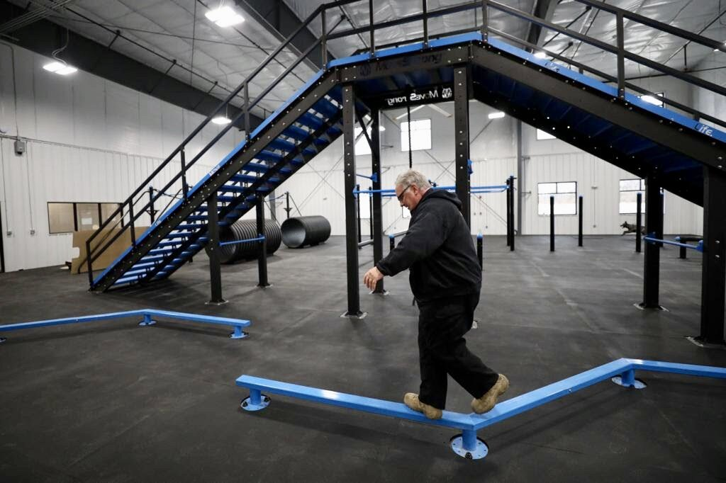 Police Obstacle Course Training Equipment
