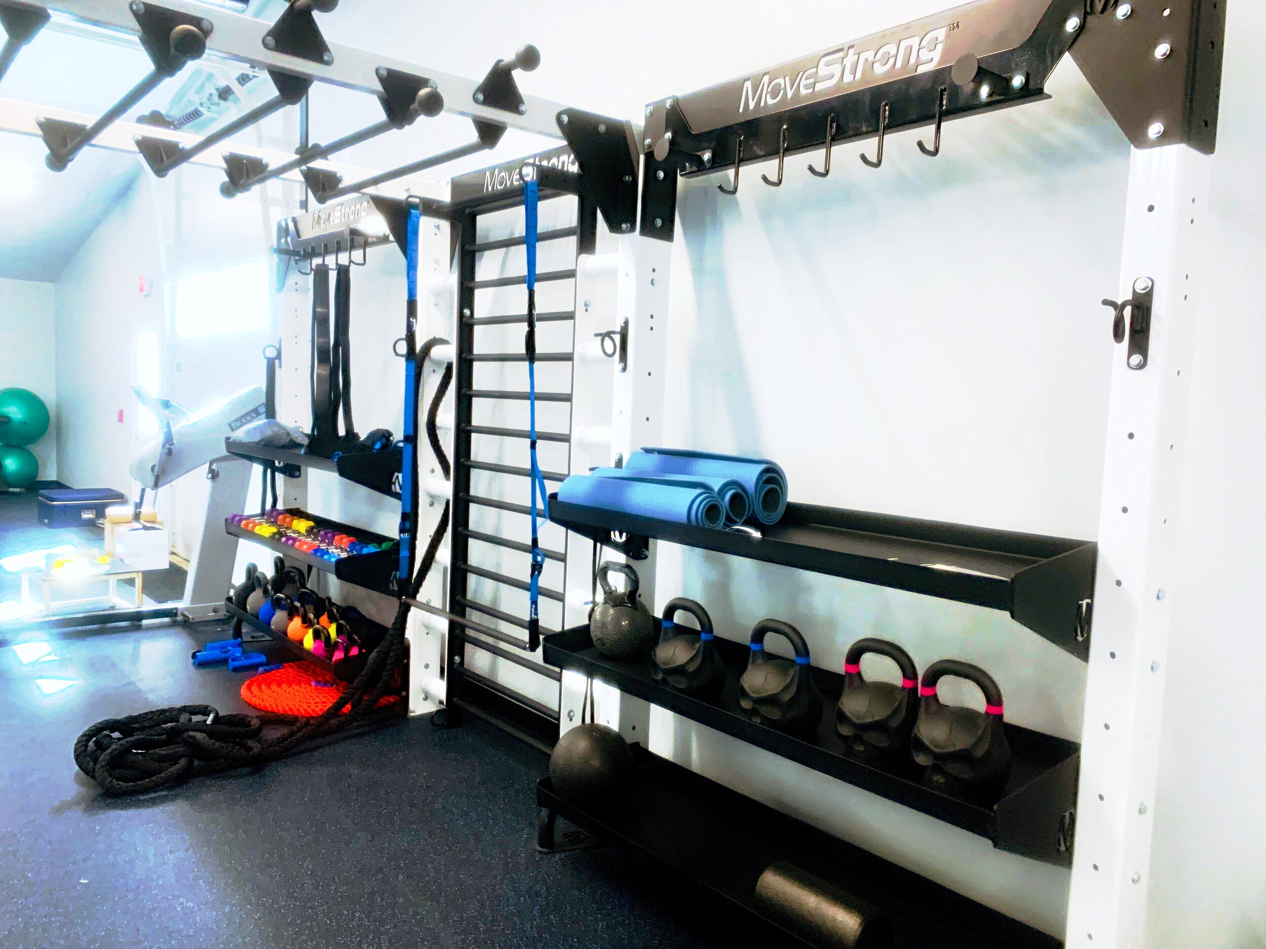 Functional Fitness Storage and Training