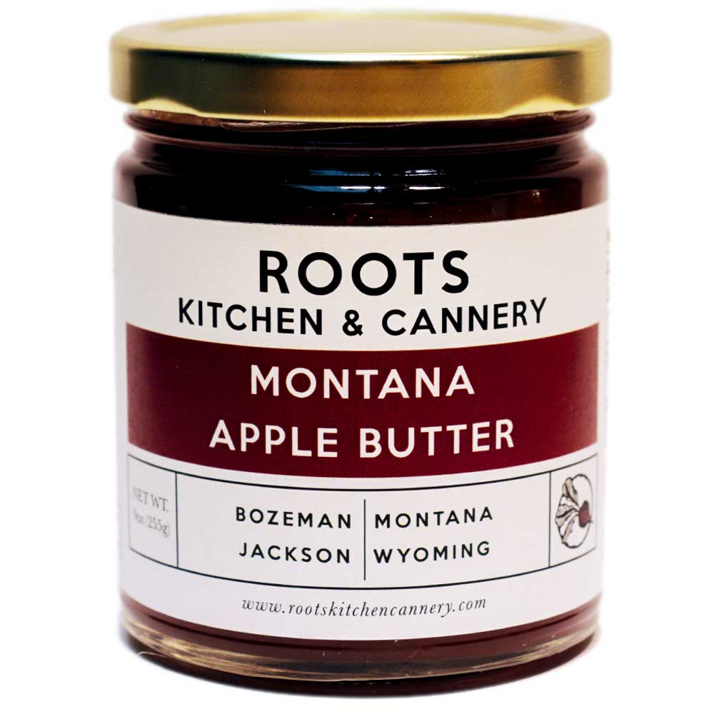 Montana Apple Butter - Handmade from locally grown apples and sweetened just enough to preserve our perfect blend of apples and spices.