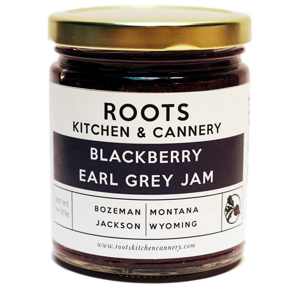 Blackberry Earl Grey Jam - Flavors of bergamot brighten up this jam for a unique combination that tastes as good on toast as it does with warm brie.