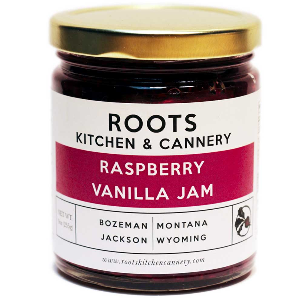 Raspberry Vanilla Jam - The bright summer richness of raspberry with a side of warm vanilla for an unbeatable combination.
