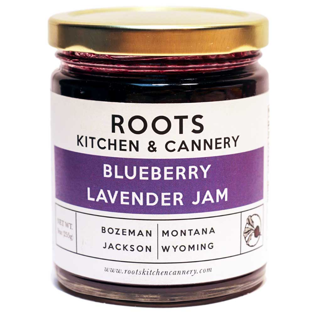 Blueberry Lavender Jam - Subtle notes of calming lavender layered over sweet summer-ripened blueberries for a fresh take on a time-honored classic.