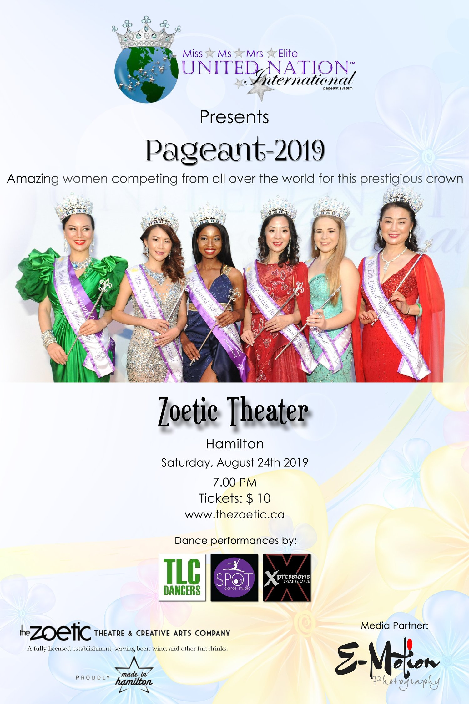 5eaca197c8cb The United Nation Pageant has a category for every women because we believe  every woman has a voice at any stage of her life.