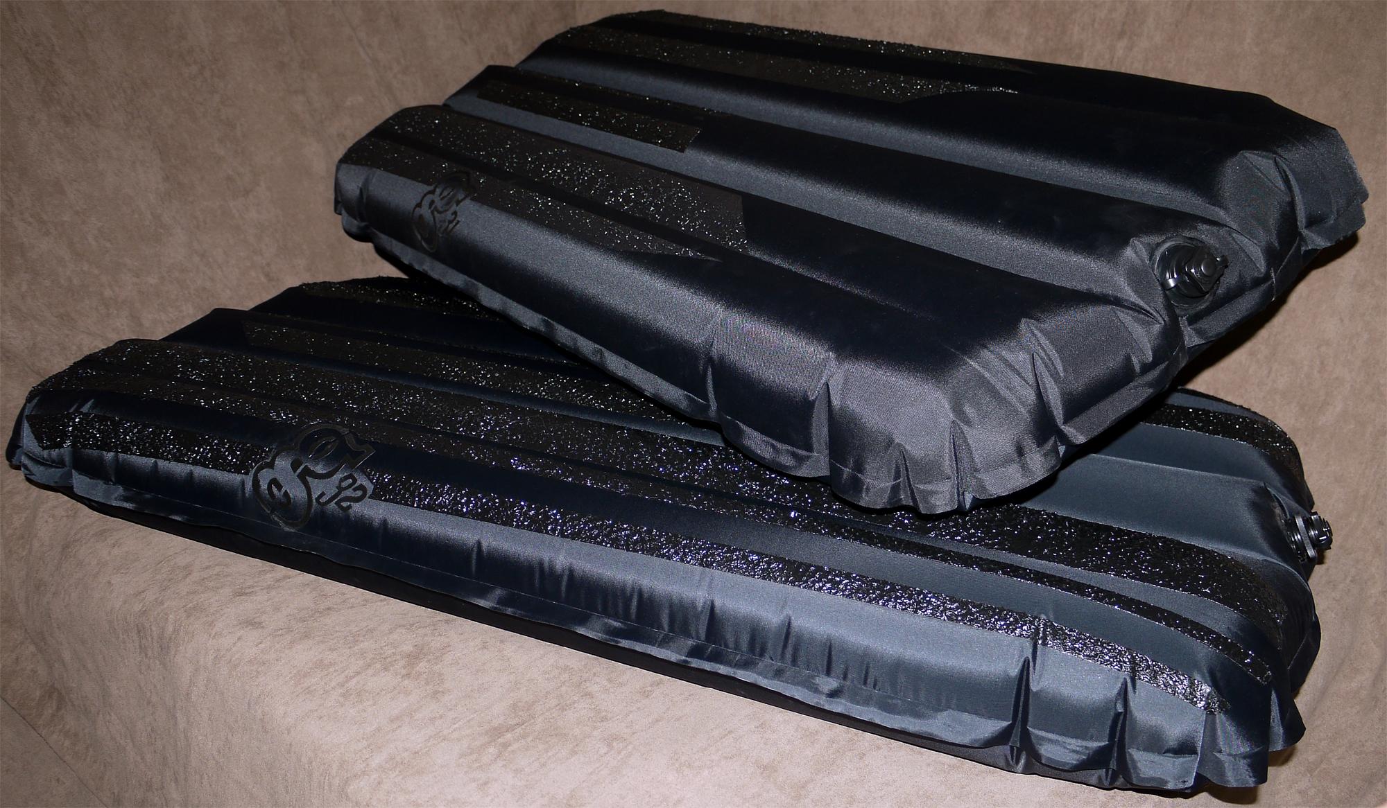 ASB's Rubber Bucky Proto's: 200/70 top, 70/70 bottom.