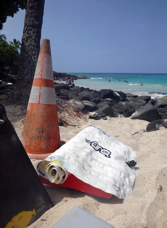 Phileas at Magic Sands (La'aloa), Kailua-Kona