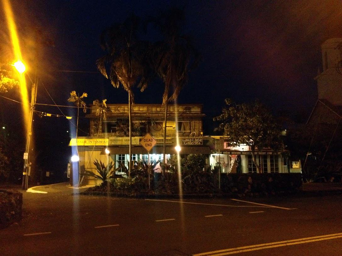 Kailua-Kona at Night