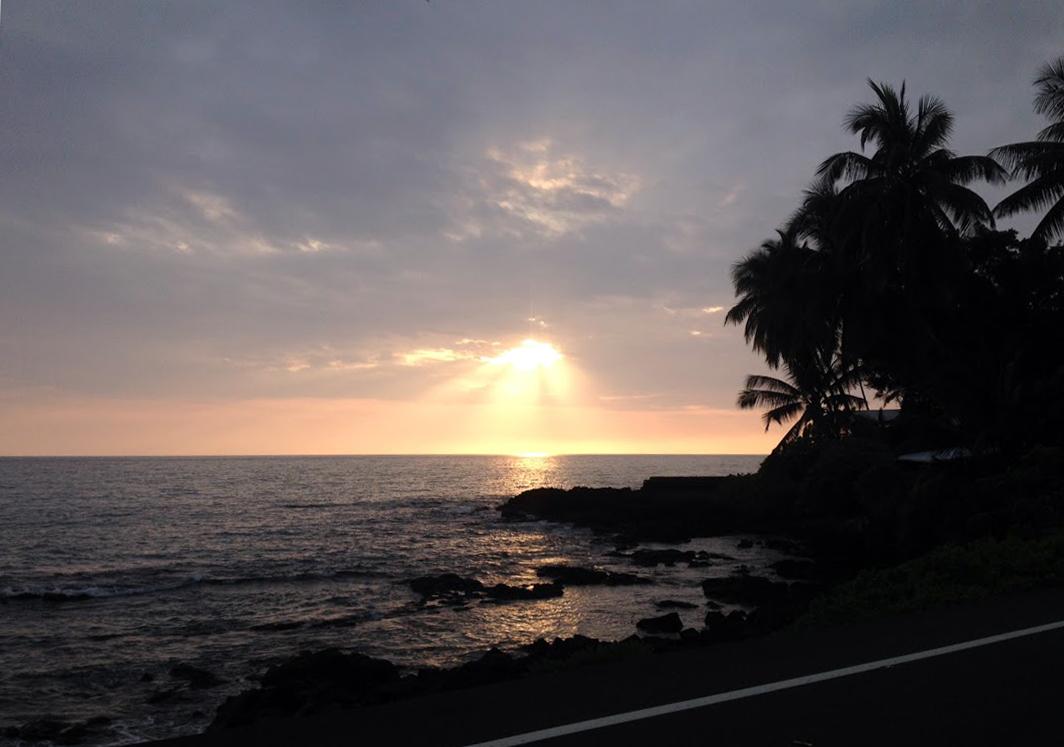 Lyman's Sunset, Kailua-Kona