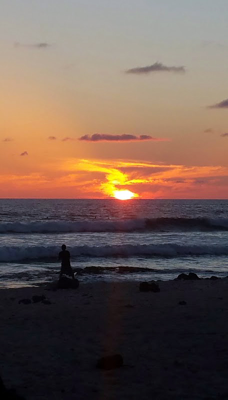 Sunset at Magic Sands (La'aloa), Kailua-Kona