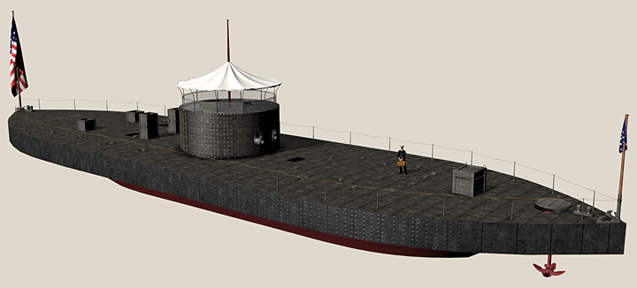 The original USS Monitor