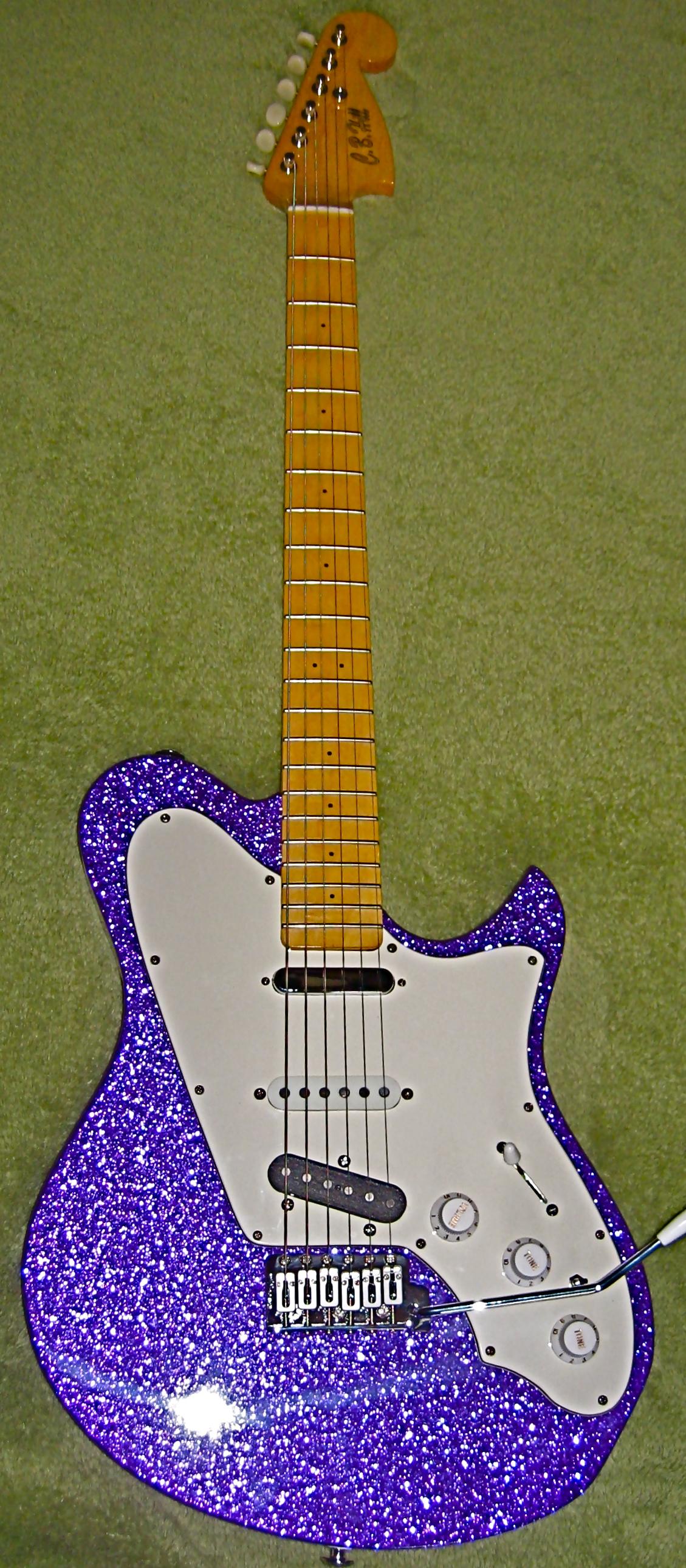 A new custom purple sparkle Surfmaster