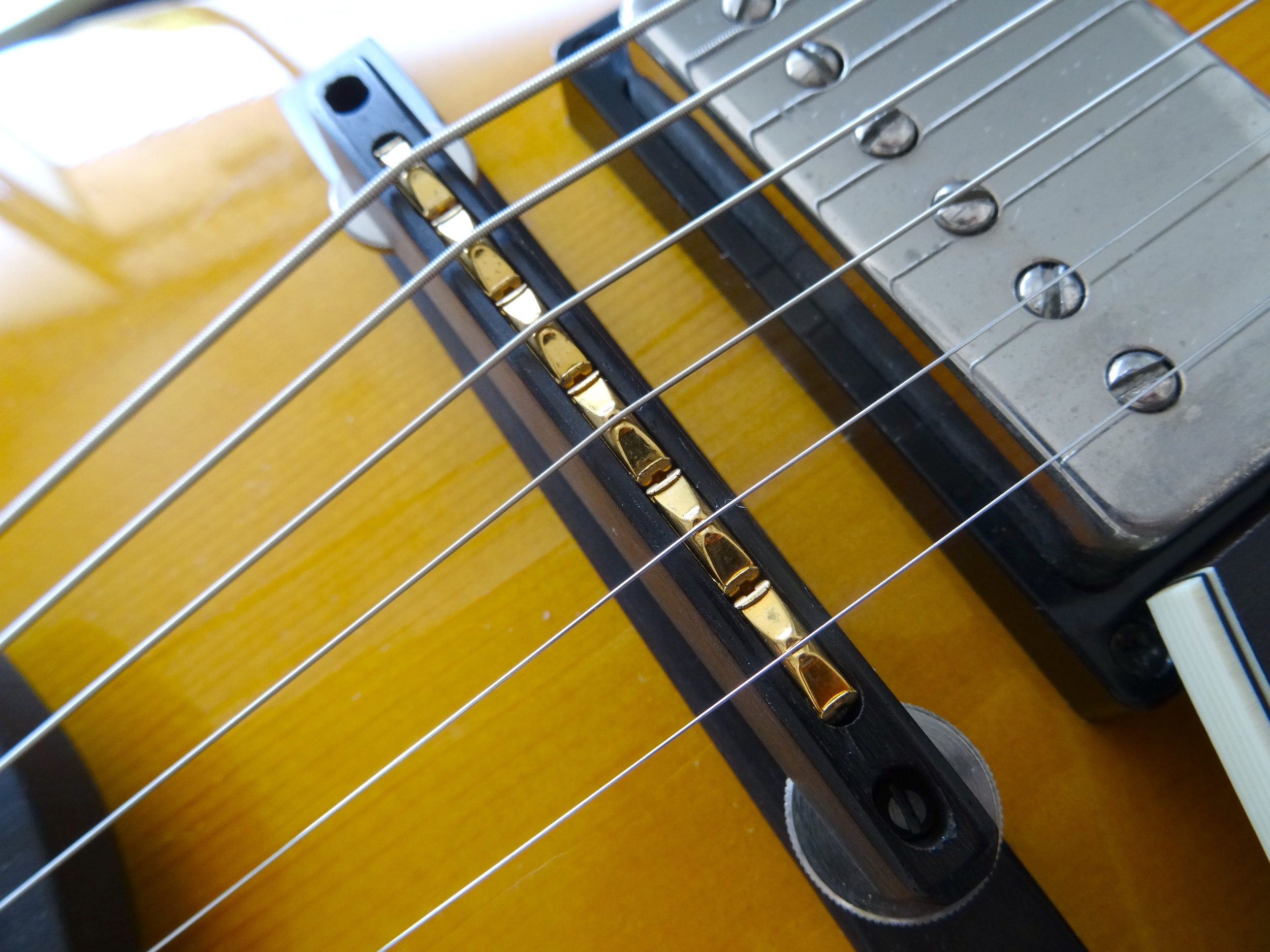 Each string has its own saddle pickup, which in turn can be output separately via the MIDI out jack