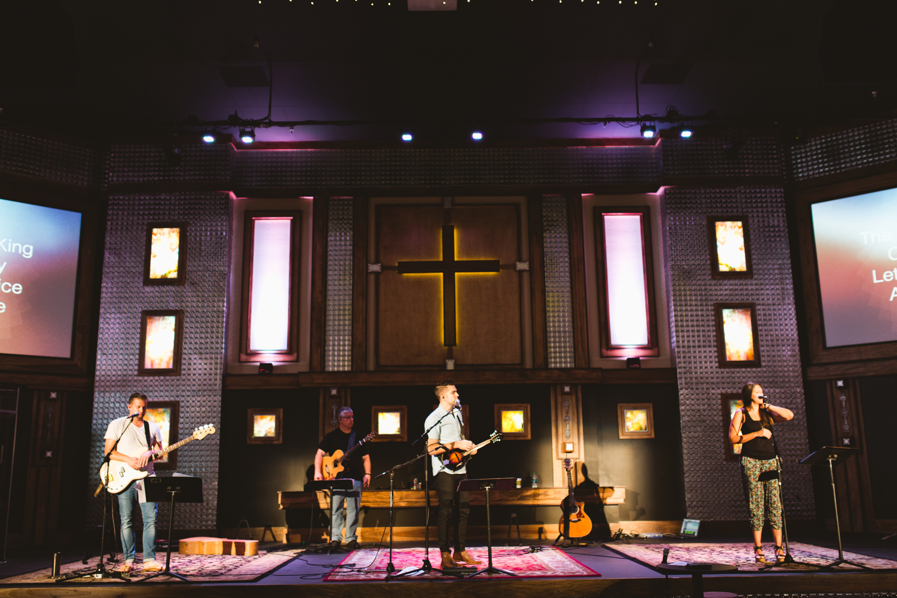 Newport Mesa Church - Stage Lighting