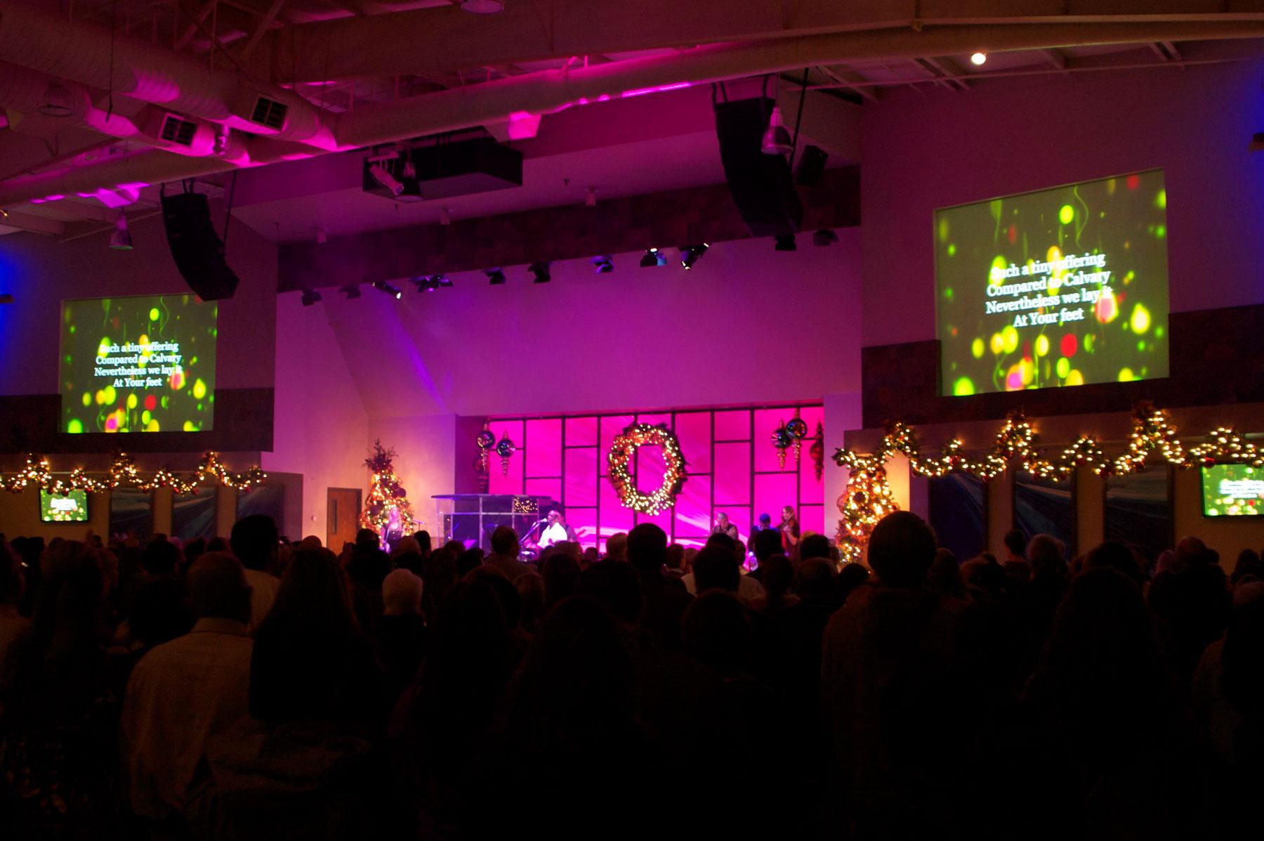 Water of Life Community Church - Audio, Video & Lighting Integration