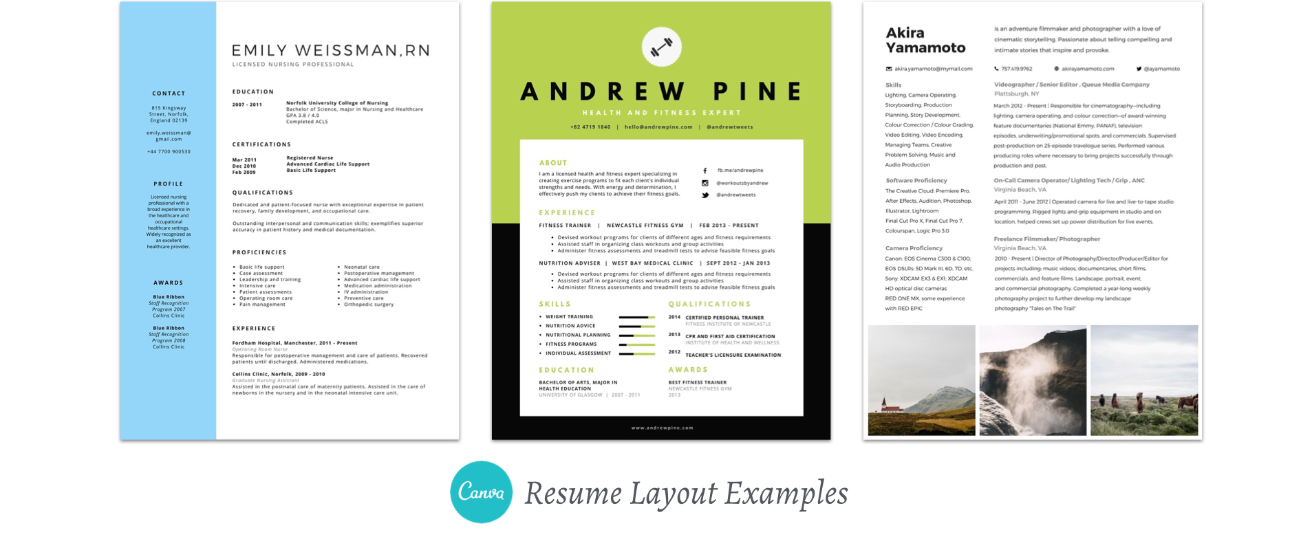 Resumes and Other Ways to use Canva for your career | Greatest Story for Business