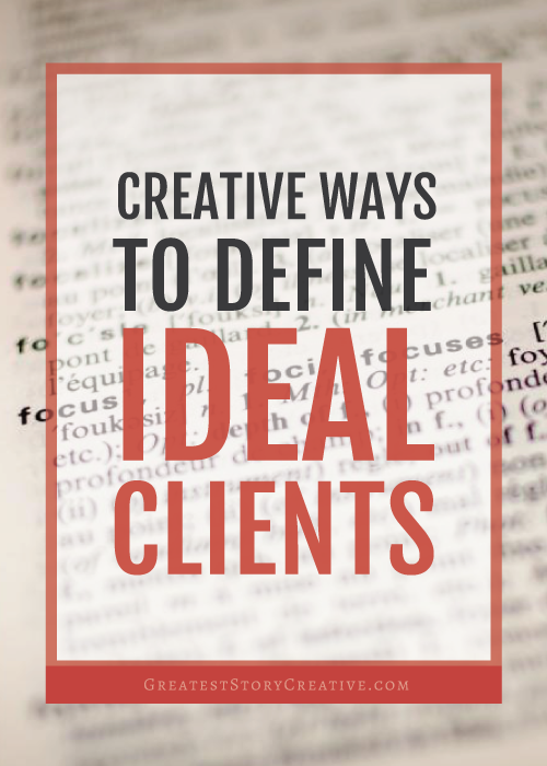 Alternative Ways to Identify and Define Your Ideal Client in Business | Skip to Action Blog