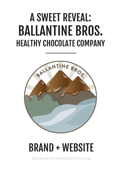 Chocolate Company Branding and Website by Greatest Story Creative