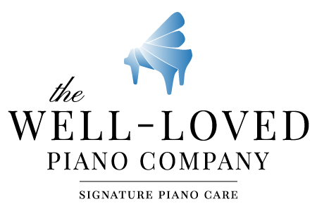 The Well-Loved Piano Company - Name and Logo by Greatest Story Creative