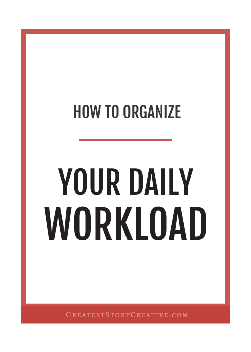 How to Organize Your Day-To-Day Schedule Better as an Entrepreneur | Greatest Story for Business