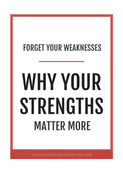 StrengthsFinder - An Empowering Book & Test for Entrepreneurs | Greatest Story Creative