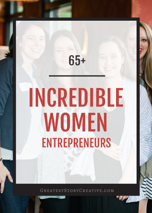65+ Incredible Women Entrepreneurs in North Carolina and Beyond | Greatest Story Creative
