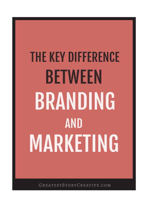 Figuring Out the Key Difference Between Branding and Marketing
