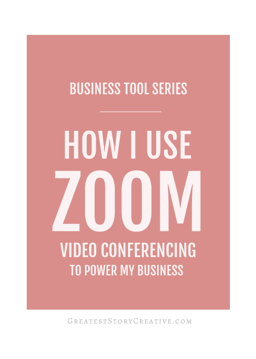 Zoom Video Conferencing Review by Annie Franceschi - Greatest Story Creative