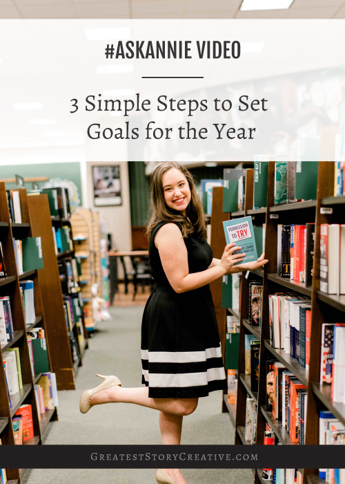 3 Simple Steps to Set Goals for the Year with Branding Partner, Author, and Speaker, Annie Franceschi