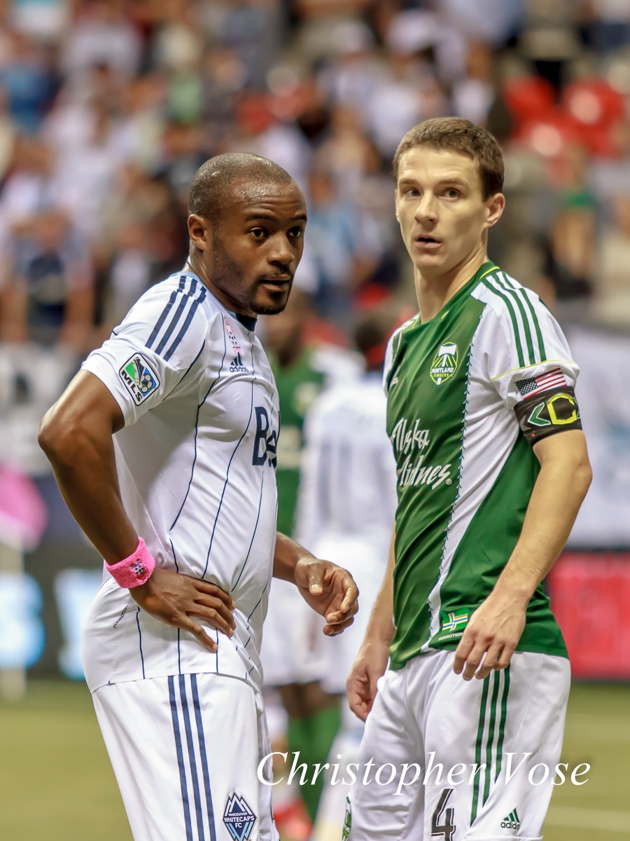 2013-10-06 Nigel Reo-Coker and Will Johnson.jpg