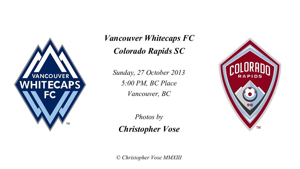 2013-10-27 Round 34; Vancouver Whitecaps FC v Colorado Rapids SC.jpg