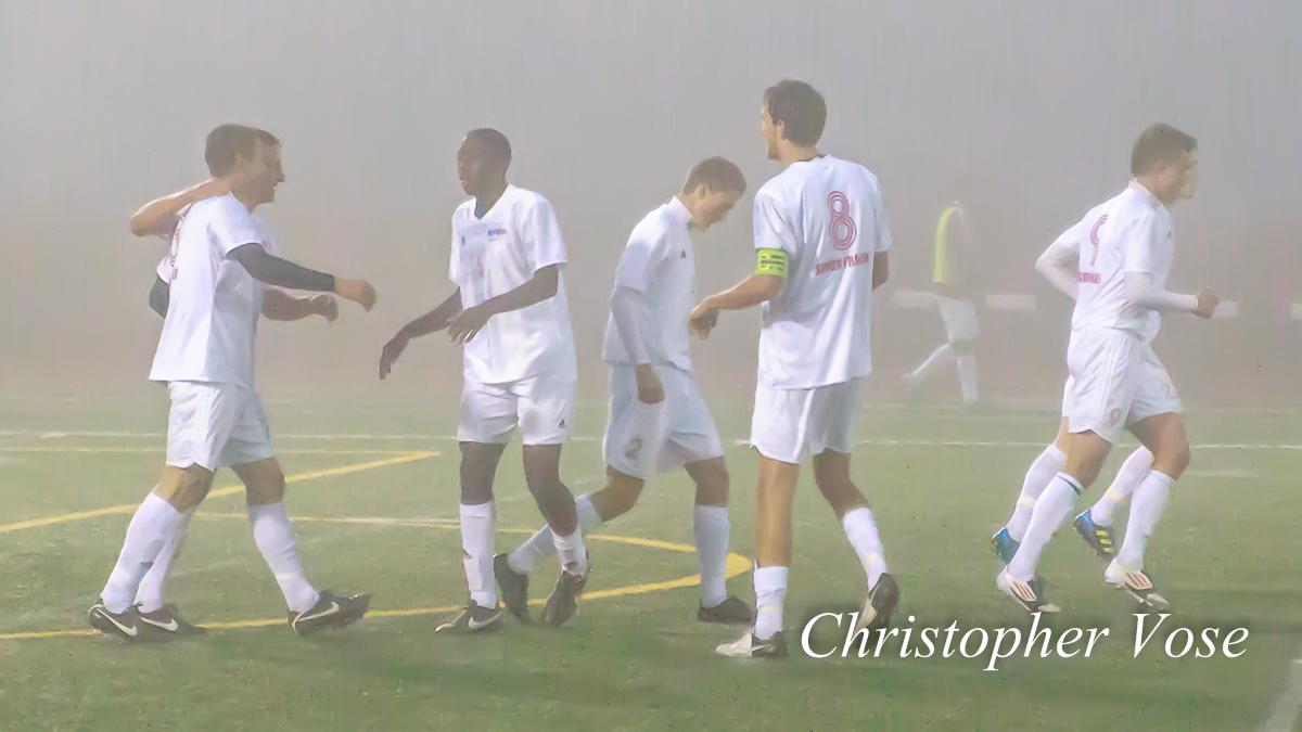 2012-10-11 Justin Wallace Goal Celebration.jpg