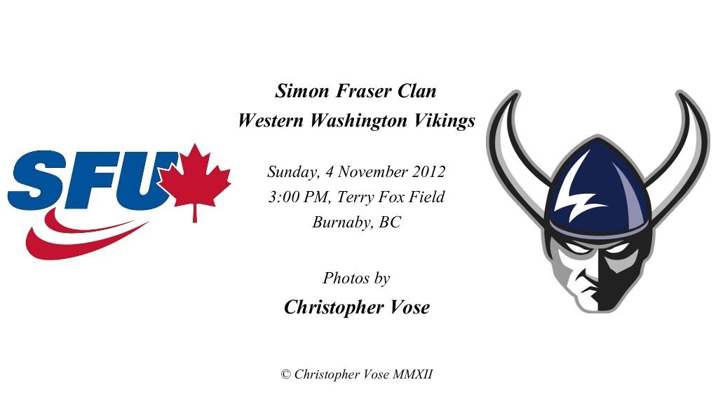 2012-11-04 Round 14; Simon Fraser Clan v Western Washington Vikings.jpg