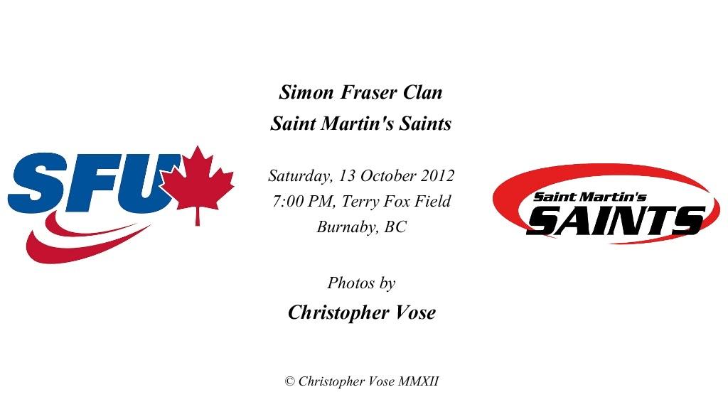 2012-10-13 Round 13; Simon Fraser Clan v Saint Martin's Saints.jpg