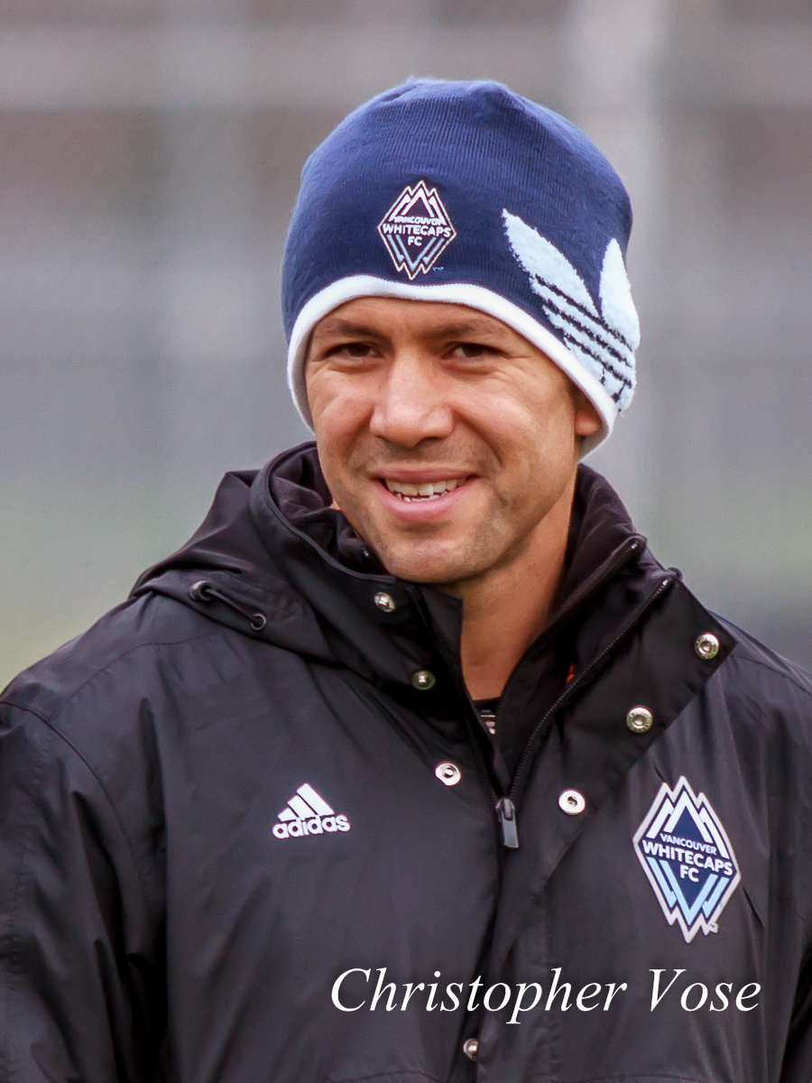 Mike Young smiles at the Burnaby Lake Sports Complex on 25 January 2013.