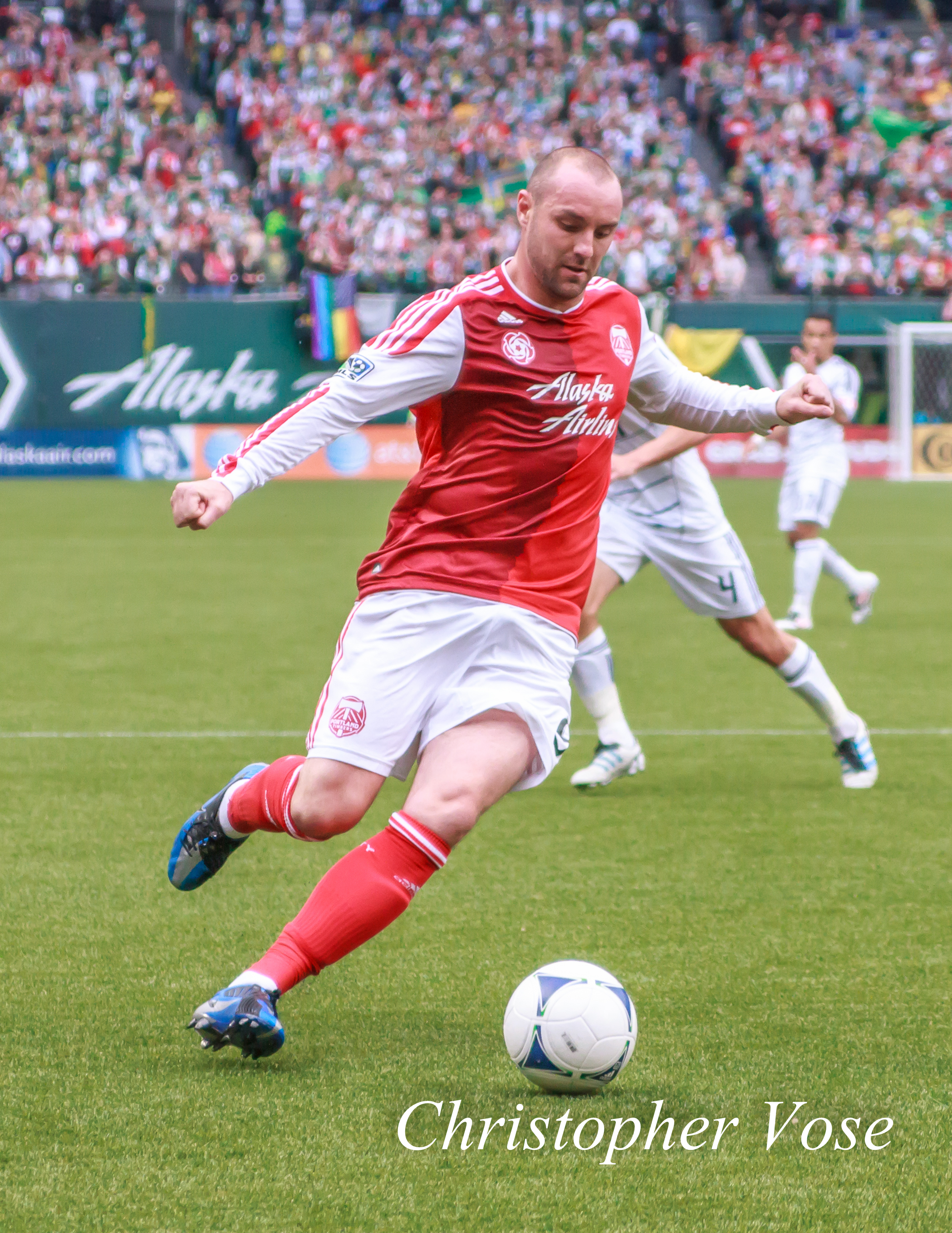 Kris Boyd at JELD-WEN Field on 26 May 2012.
