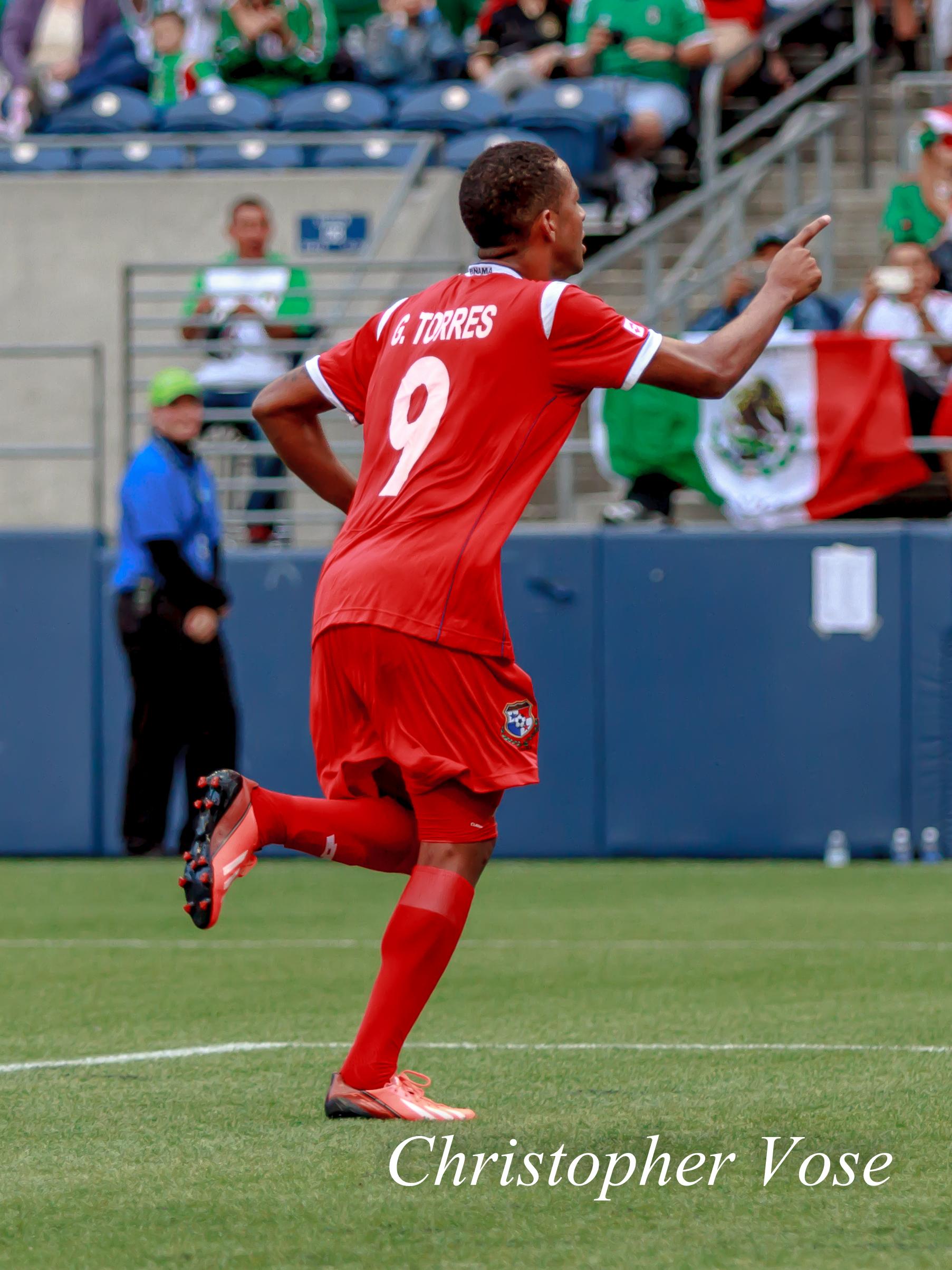 2013-07-11 Gabriel Torres Goal Celebration.jpg