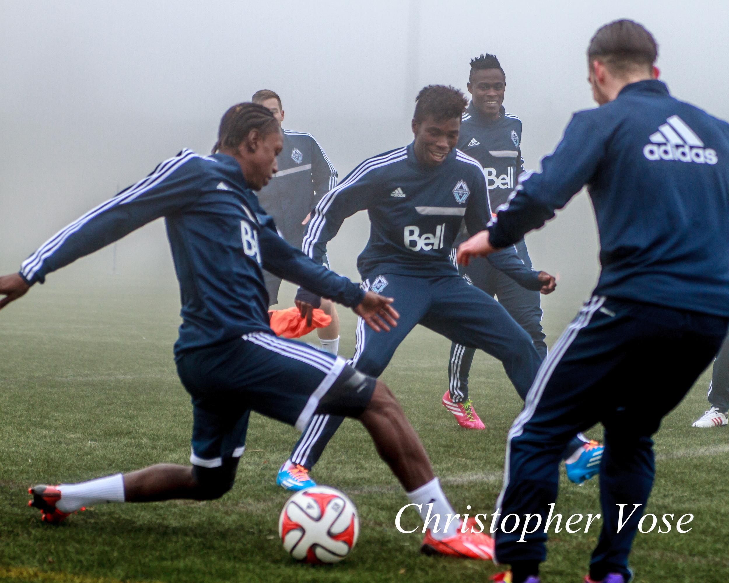2014-01-27 Darren Mattocks and Sam Adekugbe.jpg