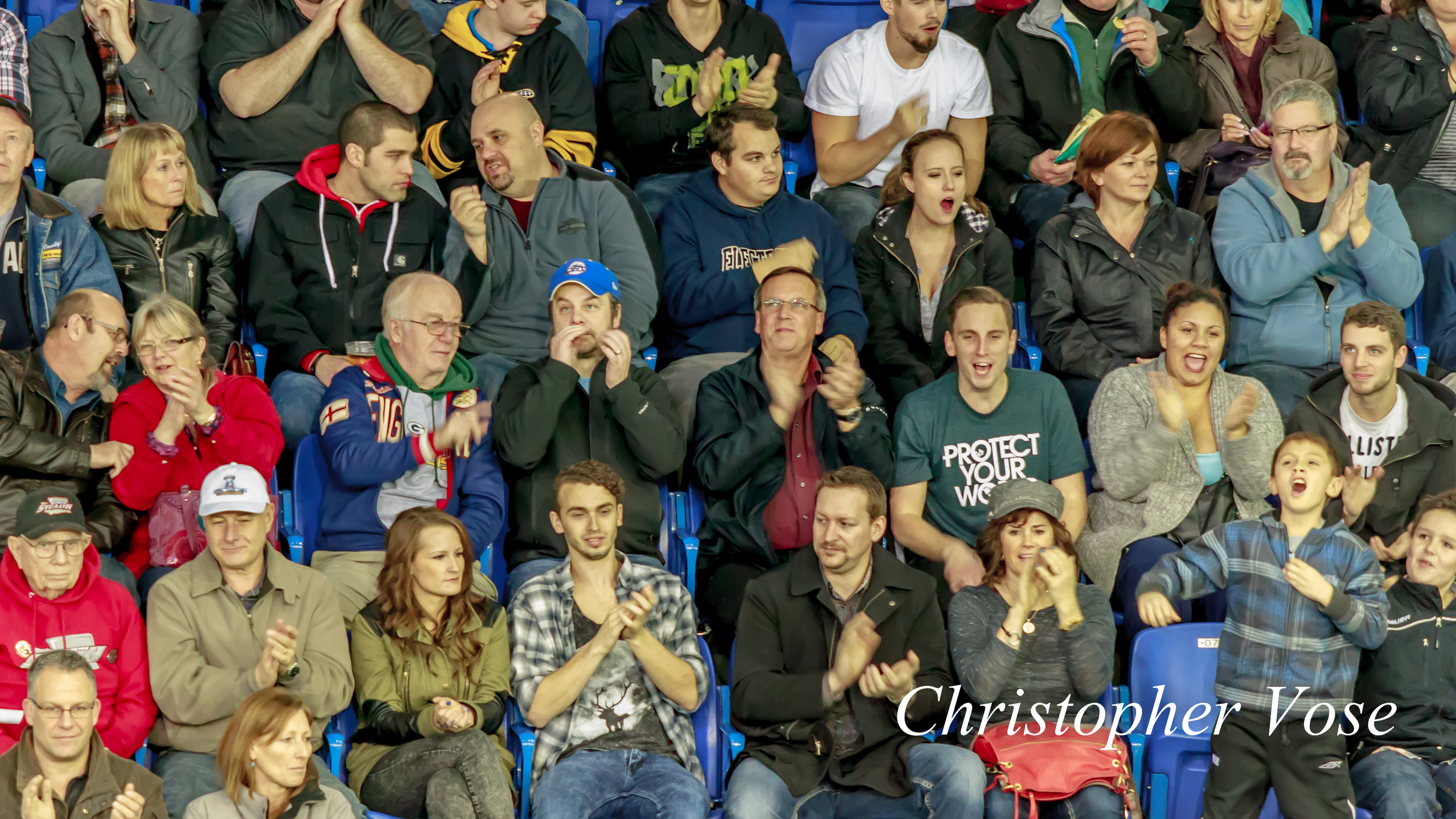 2014-01-17 Vancouver Stealth Supporters Goal Reaction (Smith's First).jpg