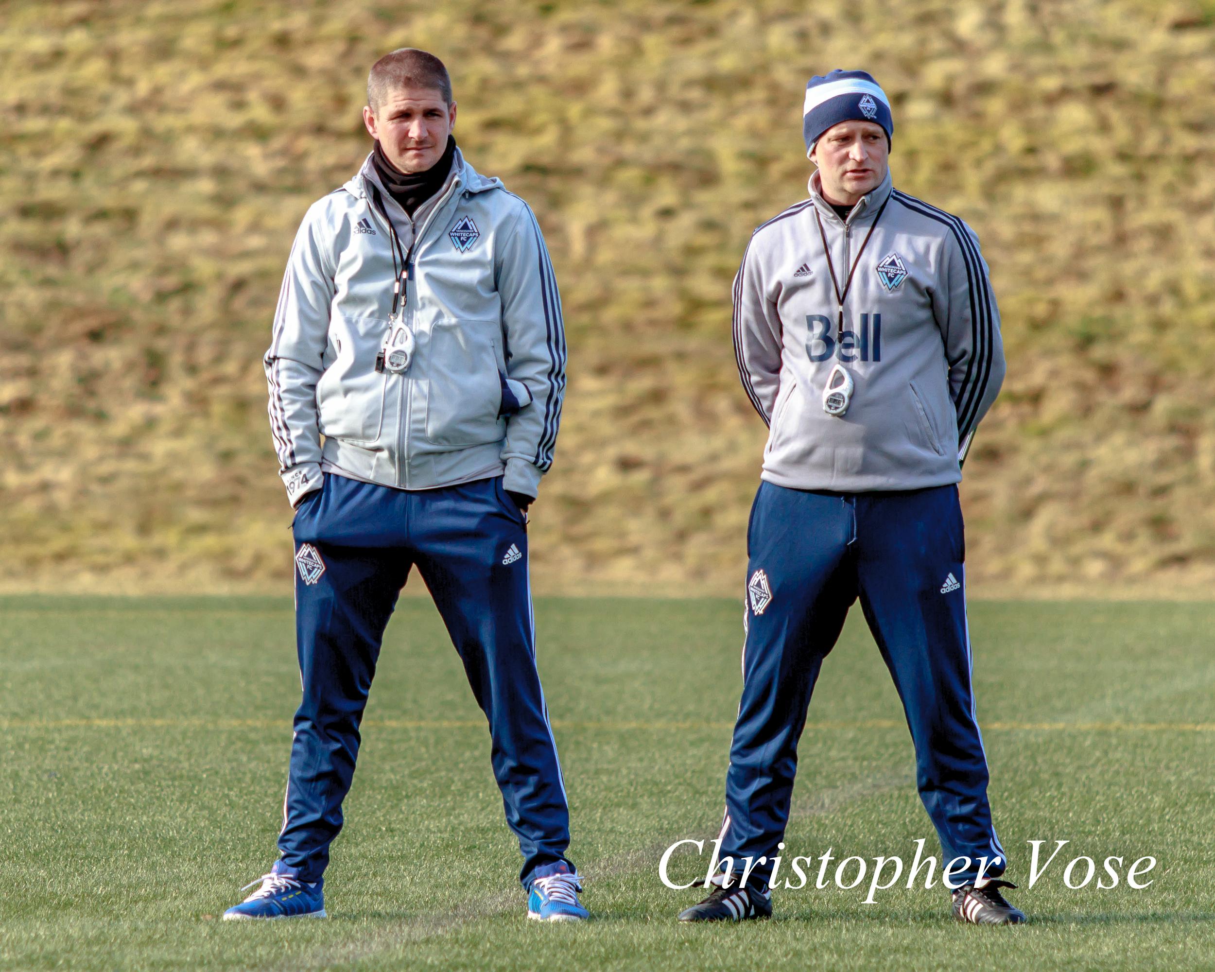 2014-02-14 Carl Robinson and Gordon Forrest.jpg