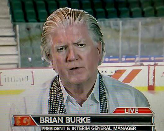 Brian Burke on Sportsnet, 5 March 2014.