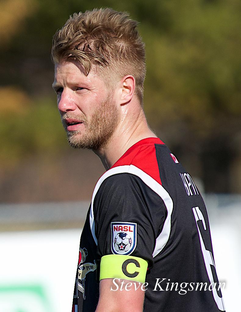 Richie Ryan lead the Fury against their CSA Cup rivals, FC Edmonton.