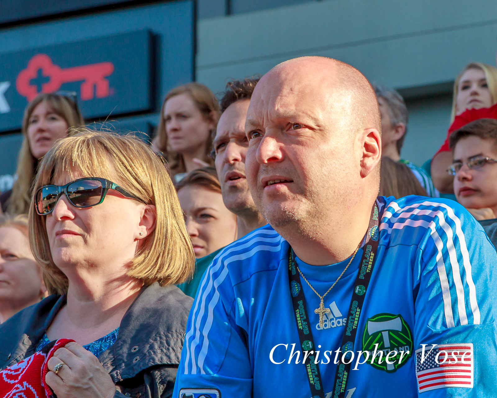 2014-06-01 Timbers Army Goal Reaction (Morales' Second).jpg