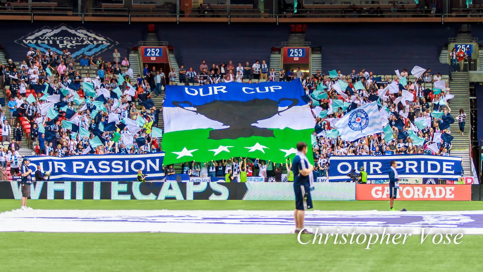 """""""Our Passion. Our Pride. Our Cup.""""  Vancouver Southsiders"""