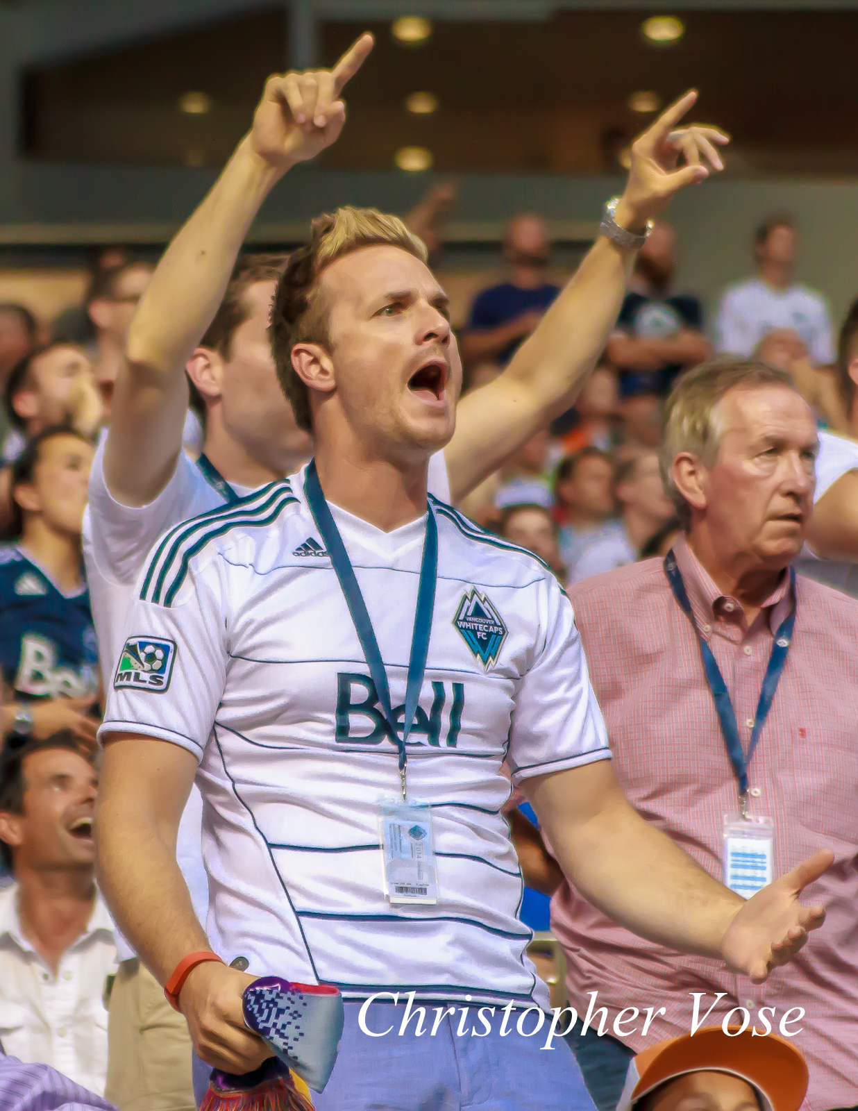 2014-07-12 Vancouver Whitecaps FC Supporter Reaction (No Morales Goal).jpg